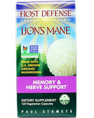 Buy Host Defense Lion's Mane 120 Veggie Caps Fungi Perfecti Online, UK Delivery, Attention Deficit Disorder ADD ADHD Memory Support Formulas