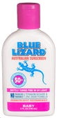 Buy Baby SPF 30+ UVA/UVB Protection 5 oz (148 ml) Blue Lizard Australian Sunscreen Online, UK Delivery, Sunburn Sun Protection Kids Baby Sunscreen
