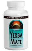 Yerba Mate 600 mg 180 Tabs, Source Naturals, Standardized Extract