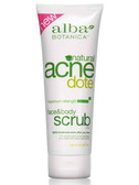 Buy Face & Body Scrub 8 oz Alba Botanica Fights Breakouts Online, UK Delivery, Women's Supplements Vitamins For Women Acne Treatment Topical