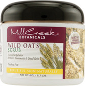 Buy Wild Oats Scrub 4 oz Mill Creek Botanicals Online, UK Delivery, Body Sugar Scrubs