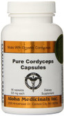 Buy Pure Cordyceps Caps 525 mg 90 Caps Aloha Medicinals Online, UK Delivery, Immune Support Mushrooms