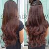 005W :  new super popular hair extensions - BLACK / DARK BROWN / LIGHT BROWN