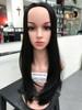 #6066 natural straight wave half wig