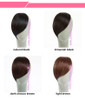 Clip in Fringe Side Swept Bangs (Premium Quality, Super Soft and Looks exactly like real hair)