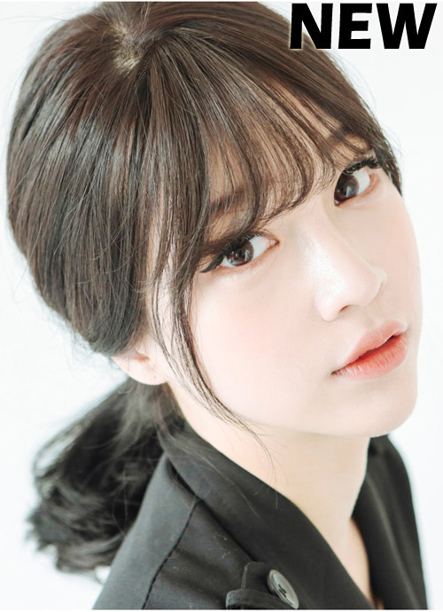 korean bangs thin version  shiny girlhairdocom singapore hair extensions hair wigs