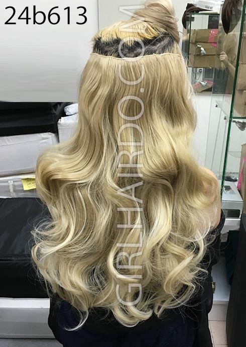 24b613 blonde hair extensions girlhairdo singapore hair 24b613 blonde hair extensions pmusecretfo Images