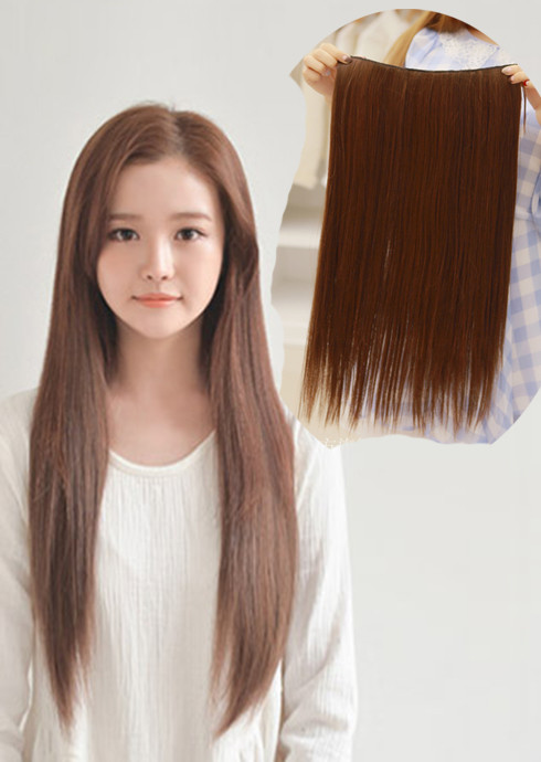 Human hair hair extension very long 50cm60cm girlhairdo human hair hair extension very long 50cm60cm pmusecretfo Choice Image