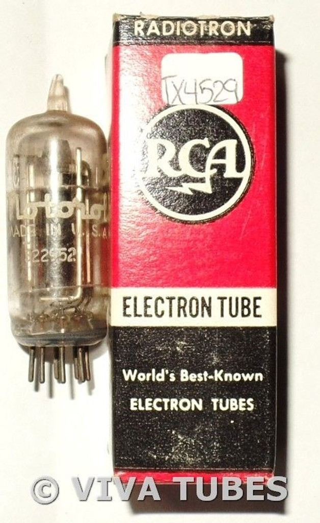 (Vintage) Tung-Sol USA 12AT6 [HBC90] Smooth Plate Side [] Get Vacuum Tube 71%