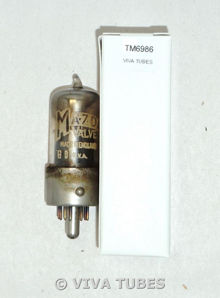 Mazda England 10L0 Black Plate Top [] Get Vacuum Tube