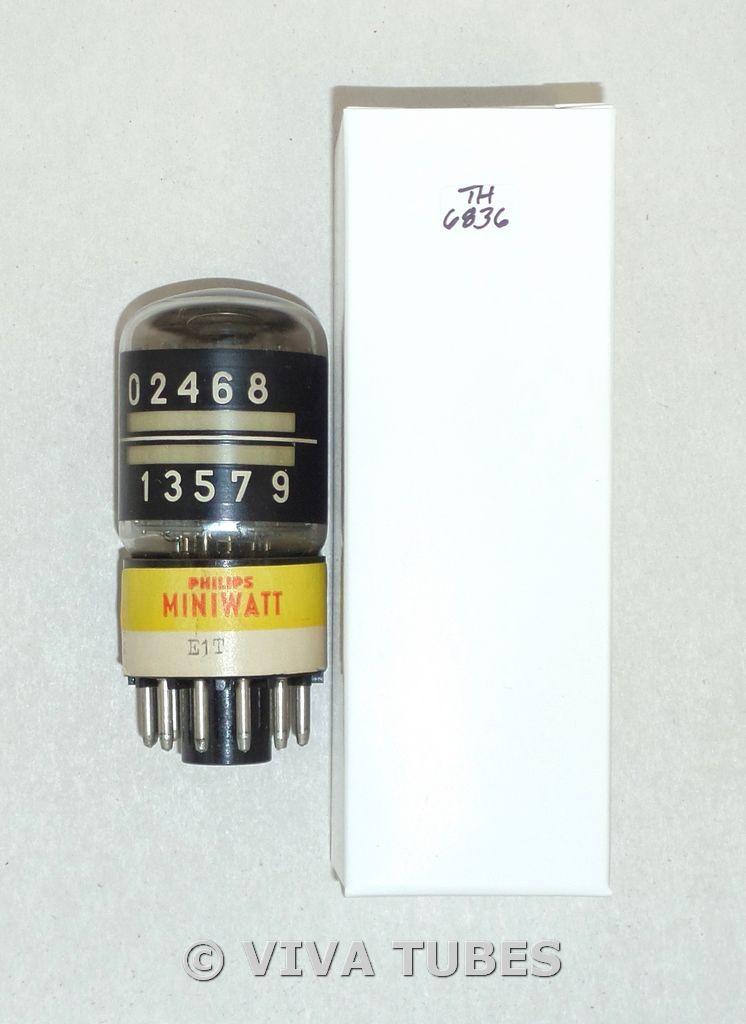 Philips Miniwatt US E1T [6370] Beam Switching Decade Counting Vacuum Tube
