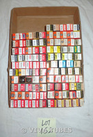 Mixed lot of 100 Boxed Vacuum Tubes.  6DT6, 6BY8, 6BH8, 6HB7, 12EH5