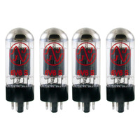 New In Box Plate Current Matched Quad (4) JJ 6V6 / 6V6S Vacuum Tubes 6V6GT