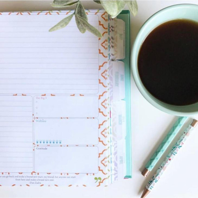 4 Simple Tips to Effectively Use a Paper Planner