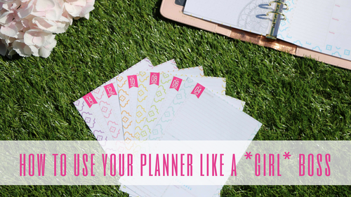 How to use your day planner - 10 tips for Planner Peace!