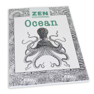 Zen Colouring Book - Ocean