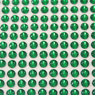 Self Adhesive Rhinestones - Green