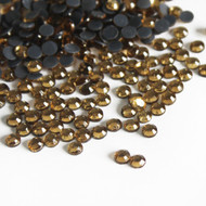 Hot Fix Rhinestones - Topaz