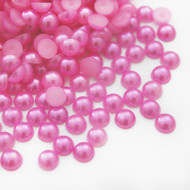 Flat back Pearls - Light Rose