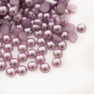 Flat back Pearls - Light Purple