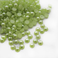 Flat back Pearls - Light Green