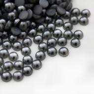 Flat back Pearls - Grey