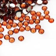 Flat back Rhinestones - Orange