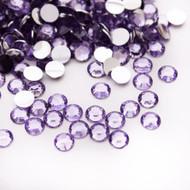 Flat back Rhinestones - Light Purple