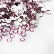 Flat back Rhinestones - Light pink