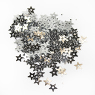 Sequins - 5mm Silver Stars