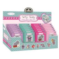 DMC Mini Cross Stitch Kit Tatty Teddy