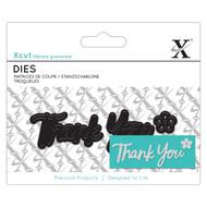 X-Cut Mini Thank You Die