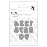 X-Cut Mini Numbers 0-9 Die
