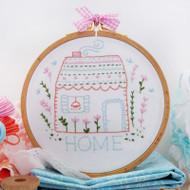 DMC Embroidery Kit - Home Sweet Home