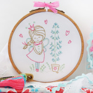 DMC Embroidery Kit - Shy Fairy