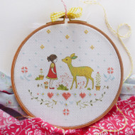 DMC Cross Stitch Kit - Nature Girl