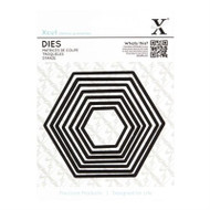 X-Cut Nesting Hexagon Dies