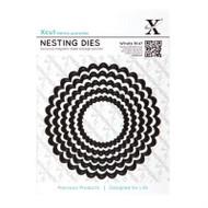 X-Cut Nesting Scalloped Circle Dies