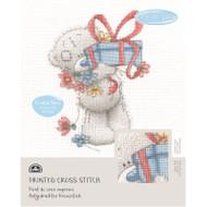 DMC Printed Cross Stitch Kit Tatty Teddy - Gift