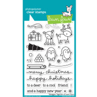 Lawn Fawn Toboggan Togther Stamps