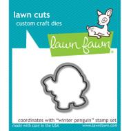 Lawn Fawn Winter Penguin Die Set