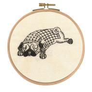 DMC Embroidery Kit - Doug Dozing