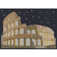 DMC Mr X Stitch Glow in the D'Architecture Collection - Rome by Night