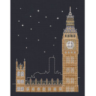 DMC Mr X Stitch Glow in the D'Architecture Collection - London by Night