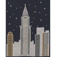 DMC Mr X Stitch Glow in the D'Architecture Collection - New York by Night