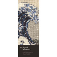 DMC British Museum The Great Wave Counted Cross Stitch Bookmark Kit