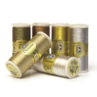 DMC Diamant Metallic Thread 35m Col D301 Copper