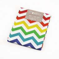 Darice Fabric Fat Quarter - Multi Chevrons