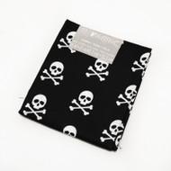 Darice Fabric Fat Quarter - Skull and Crossbones