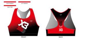 X3 Triathlon Bra (Swim Bra)